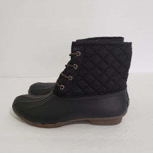 Sperry Top-Sider Saltwater Quilt Duck Boots 9